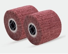 Non-woven abrasive flap wheel