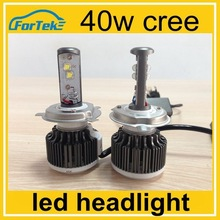 2015 new product h4 led headlight china factory 40w led headlight