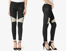 new trendy for women wholesale slim moto jeans