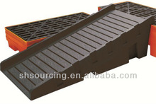 2015 New hot product injection plastic spill container ramp/pallet