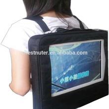 Newest design lookwalker 21 inch digital player/advertising billboard walking LED screen