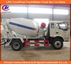 5cbm Foton Forland Concrete Mixer Truck Foton 4*2 Mixer Truck Concrete Foton mini concrete mixing truck