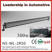 Best Factory Price!!NSSC Lifetime Warranty 4x4 pickup truck led off road light bar 4x4 led lights /52in 300W