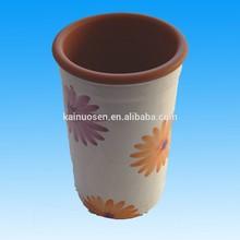 Ceramic Floral Tall Wine or Bottle Cooler