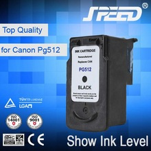 Top Selling Products inkjet printer cartridge refilling for canon pg-512 with Original Ink
