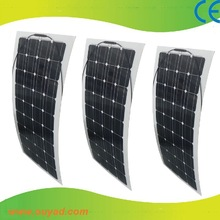 50W 80W 100W Portable flexible solar panel for portable solar power generator