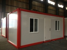 Eco-friendly in high quality steel container home for sale, prefabricated rooms, sandwich panel house
