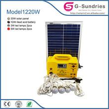 camping economic solar generator mini portable generator