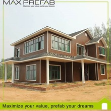Low cost of a prefabricated villa/luxury prefab villa