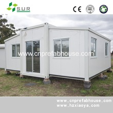 High quality portable modular office Expandable container house for store