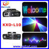 Hot sale 1W RGB full color mini animation laser stage light