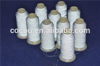 hotsell silver reflective embroidery thread