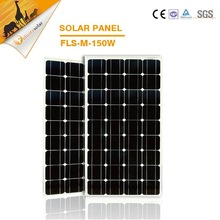 Factoey direct sales customize A grade 150w mono factory direct price solar panels for home system