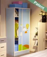 elegant bedroom wardrobe design plastic wardrobe kids wardrobe high gloss closet school wardrobe