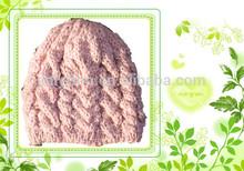 100% Acrylic High quality knitted beanie cap