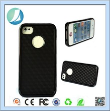 PC Back TPU Edge Mass Production Case For iPhone 4