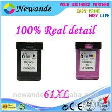 Compatible hp 61xl ink cartridge for ink cartridge 61xl for hp DeskJet 1050/2050/2050s printer