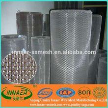 hot dip or electro galvanized wire square wire mesh rolls price