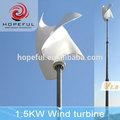 1.5kw asse verticale della turbina di vento per la tua casa