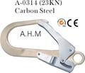 23kn mousqueton pour barres d'armature en acier de sécurité