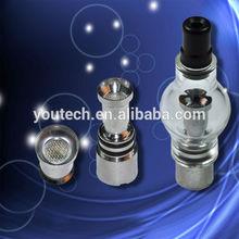best selling Portable wax vaporizer, wax atomizer, pyrex glass globe atomizer