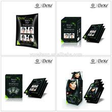 Dexe hair color shampoo brands/ make hair black shampoo crazy sell in pakistan
