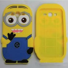 Despicable Me Minion Fancy Silicone Case Cover For Samsung Galaxy Grand Duos i9082