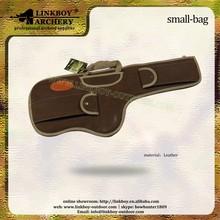 linkboy LBG001 leather gun rifle bag for hunting