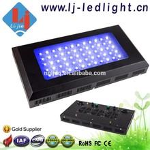 LED Aquarium Light Fish Tank Lighting 165 w/55*3 w LED Aquarium Light for Coral Reef Fish Blue/White 1:1
