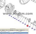 D475a-5/d61ex-23 hidráulico de la bomba parteinterior 708-2g-13341 retenedor de precio de venta al por mayor