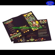 Full color printing sample leaflet with low custom