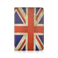 United Kingdom Flag PU Leather Case For Amazon Kindle Fire 8.9 inch Tablet That Can Flip Stand , 360 Rotate PC Cover
