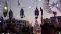 Ramadan Motif Star and Moon for Ramadan decoration