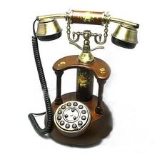 2015 Antique Decorative Wooden telephone smart phone