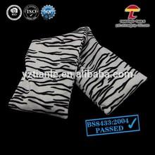 animal skin pattern neckroll warm fleece heat pack