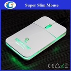 Innovative new products computer pocket mouse with led light up logo