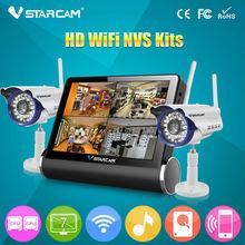"New VStarcam 7"" tablet Video NVS ip camera kit Home Surveillance kit cctv digital"