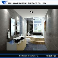 New Design Artificial Stone Bathroom Wash Basin Bathroom Sink Countertop
