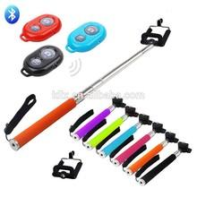 Wire Control Extendable Selfie Handheld Monopod Stick Holder colorful selfie stick for motorola moto g