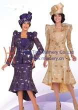 2015 New Designd Mother Of The Bride Suits Matching With Hats