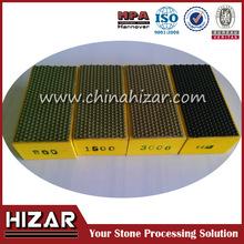 diamond hand Floor Granite Angle Grinder Dry Diamond Polishing Pad hand pad for sale
