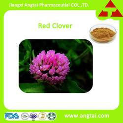 Pure natural red clover herb extract powder/8%-40% Isoflavones