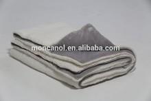 Double size plain coral fleece duvet,quilt,comforter