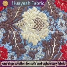 100%polyester flower pattern chenille jacquard luxurious drapery