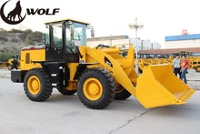 Newest heavy equipment 3t wheel loader with 1.7 bucket capacity for sale