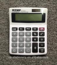 12 digit dual power desktop calculator
