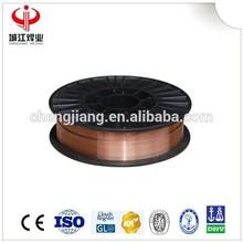 ER50-6 aws 5.18 sg2 1.2mm solid mig welding wires ER70s-6 production supplier