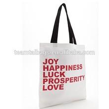 Joy Graphic Canvas Tote Bag