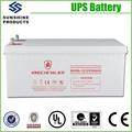 Pequeño y grande Ups 12 V 200Ah Solar fotovoltaico batería