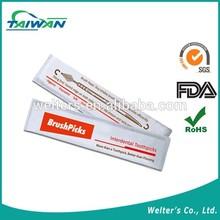 Brushpicks (Individual pack) plastic individual dental floss pick hygiene products
